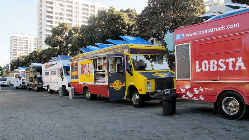 Food trucks vendors